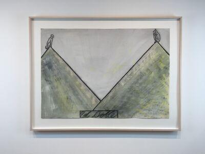 José Bedia, 'El Doble', 1989