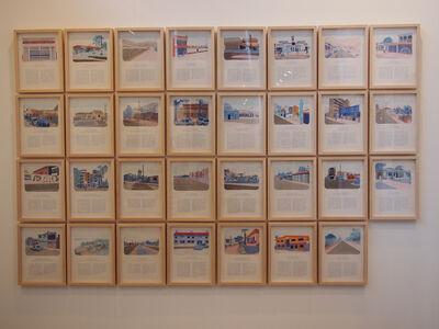 Andrea Canepa, 'TODAS LAS CALLES DEL AÑO. Septiembre. 30 drawings', 2012