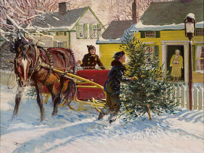Robert Lougheed, 'Christmas in Connecticut '