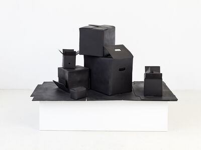 João Maria Gusmão & Pedro Paiva, 'Box outside boxes', 2015