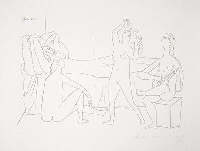 Pablo Picasso, 'Quatre Nus au Harem, 1920', 1979-1982