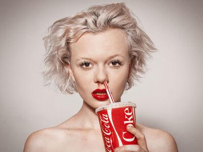 Tyler Shields, 'Coke', 2015