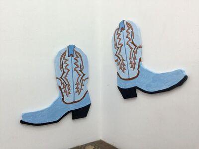 Radamés 'Juni' Figueroa, 'Cowboy boots', 2016