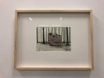Finbar Ward, 'Ortisei diaries II', 2018