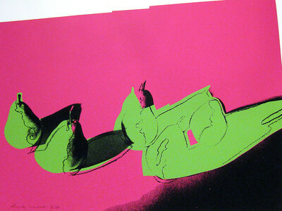 Andy Warhol, 'Space Fruit: Still Life (Pears)', 1979