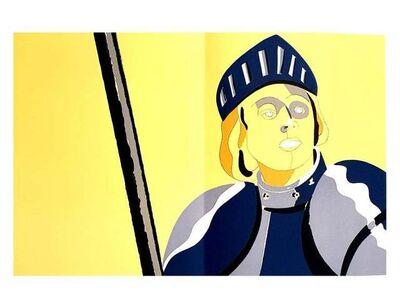Eduardo Arroyo, 'Eduardo Arroyo - Jeanne d'Arc - Original Lithograph', 1984
