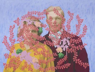 Daisy Patton, 'Untitled (Wedding Portrait with Flowers)', 2018