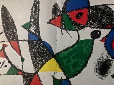 Joan Miró, 'Original Lithograph', 1975