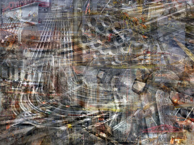 Shai Kremer, 'W.T.C: Concrete Abstract #9'