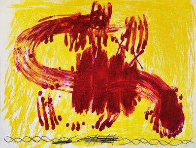 Antoni Tàpies, 'Antoni Tapies, Suite Catalana, plate 3, 1972', 1972