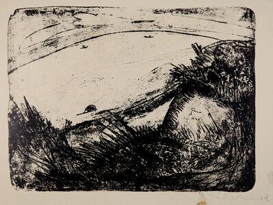 Ernst Ludwig Kirchner, 'Dünen und Meer', 1913