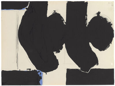 Robert Motherwell, 'Elegy to the Spanish Republic No. 110C', 1968
