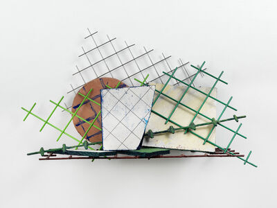 William Tillyer, 'Studio Shelf with Circle 27', 1979