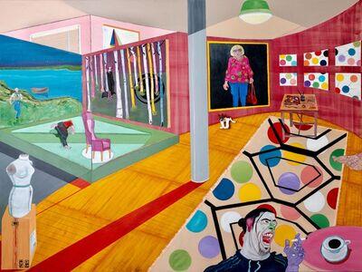 Samuel Iztueta, 'Red Studio IV', 2018