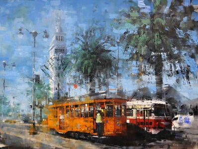 Mark Lague, 'Two Trolleys', 2019