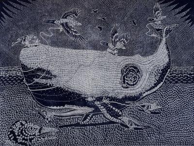 Richard Armendariz, 'How Crow Helps Whale to Sea (remix)', 2014