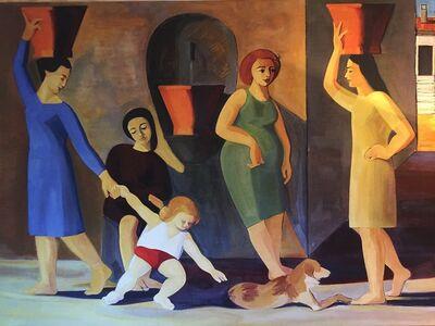 Bruno Massa, 'La Fontaine', 1955