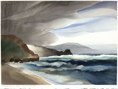 Toni Onley, 'Puukoae Point, Maui', 1991