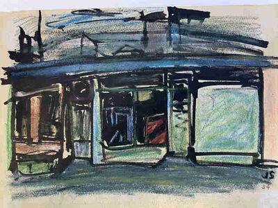 Joseph Solman, 'Street Scene', 1934