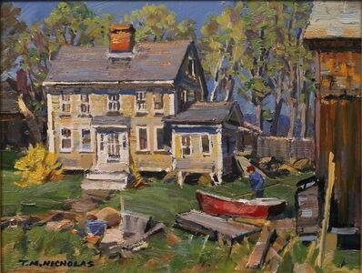 TM Nicholas, 'Boat Yard in Spring', 2017