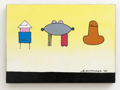Sadamasa Motonaga, 'Three shapes', 1989