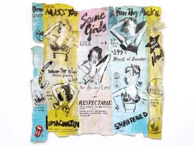Luis Pérez Calvo, 'Some Girls, Rolling Stones. Back', 2017
