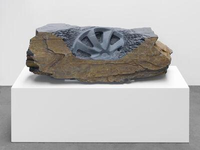 Alicja Kwade, 'Finallyfound (Hubcap)', 2018