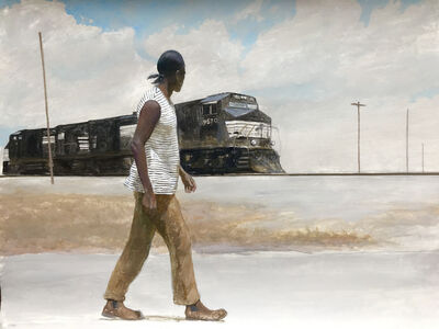 Bo Bartlett, 'The Crossing (At 9th and 10th)', 2019