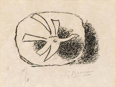Georges Braque, 'OISEAU EN VOL (V. 135)', 1958