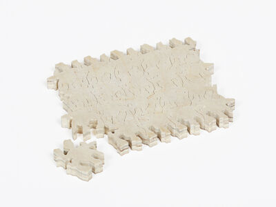 Morgan Blair, 'Small, Tessellating Puzzle for Holding Papers, Diverting Attention From Horrors of World'