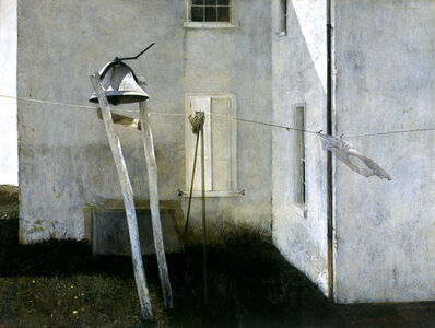 Andrew Wyeth, 'Slight Breeze', 1968
