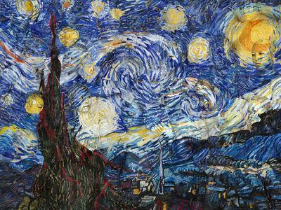 Liu Bolin, 'Starry Night', 2014