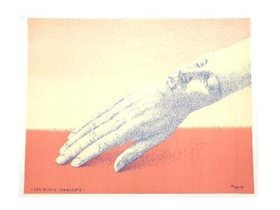 René Magritte, 'René Magritte - Indiscrete Jewelry - Original Lithograph', 1963