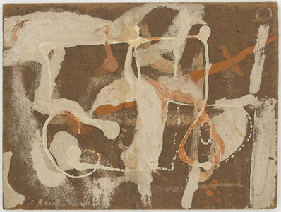James Brooks (1906-1992), 'Untitled', 1952