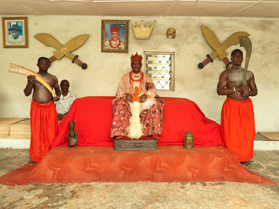 George Osodi, 'HRM OHARISI III, OVIE OF UGHELLI (from the Monarch series)', 2012