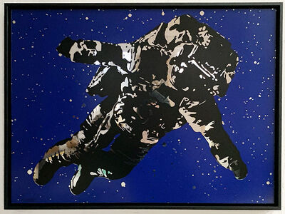 Victor Ash, 'Flying Astronaut (Mirror Edition)', 2020