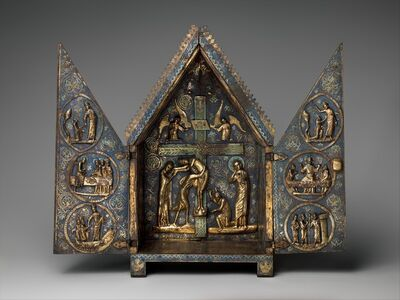 Unknown French, 'Tabernacle of Cherves', ca. 1220–1230
