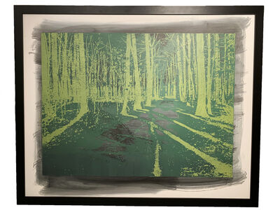 Natanel Gluska, 'Forest in Green', 2016