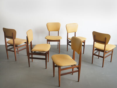 Carlo Hauner & Martin Eisler, 'Set of Six chairs by Carlo Hauner, Brazilian Design', ca. 1954