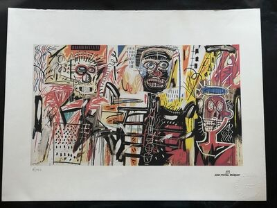 Jean-Michel Basquiat, 'Philistines', 1982