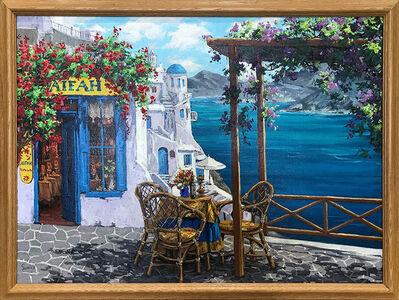 """Viktor Shvaiko, '""""Aifah Ristorante Balcony in Greece"""" ', 2011"""
