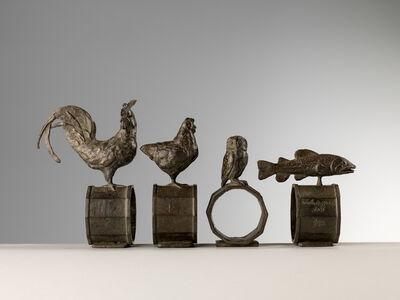 Nicola Lazzari, 'Set of 4 napkin rings', 2016