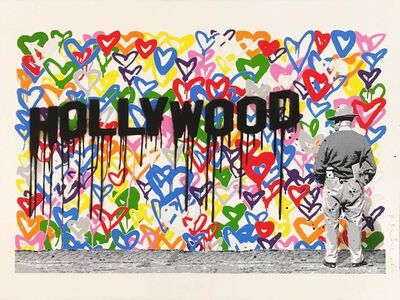 Mr. Brainwash, 'Hollywood', 2016
