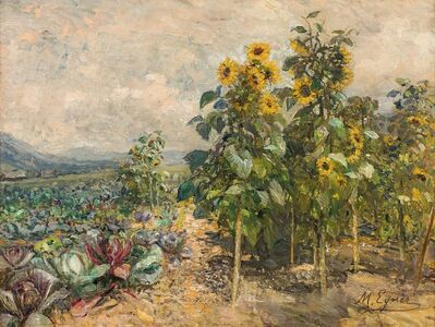 Marie Egner, 'Summer Fields in Schladming', 1915