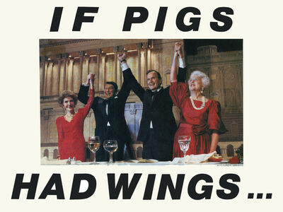 Martha Rosler, 'If Pigs Had Wings', 1988 (printed 2014)