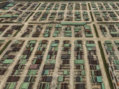 Edward Burtynsky, 'Pipe Coating Plant', 2017