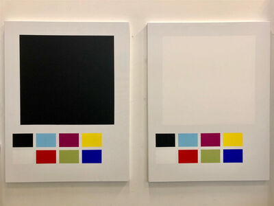 Mathieu Mercier, 'Diptyque XL', 2019