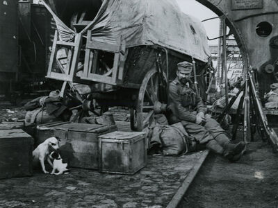 André Kertész, 'Transport, Braila, Romania', 1918