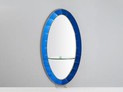 Cristal Art, 'Mirror', ca. 1955