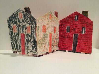 Beverly Buchanan, 'Untitled Shack, Triptych', 1990-1991